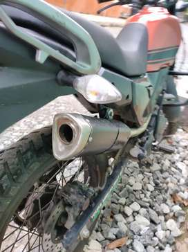 KTM DUKE 250 EXHAUST, WITH XPULSE BEND PIPE