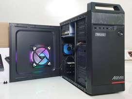 PC Rakitan core i3 cepat untuk kebutuhan daring dll. garansi 1 tahun