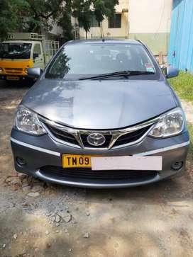 Toyota Etios GD, 2016, Diesel