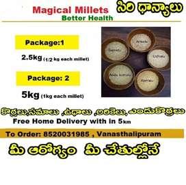 Millets ( Siri dhanyalu)