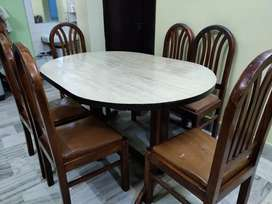 Dining table set ( Table+ 6 chairs)