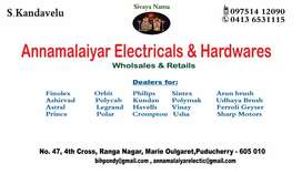 Tally working knowledge  Electrical or hardware  shop