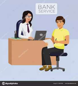 Wanted branch relationship executive for leading bank credit card sec