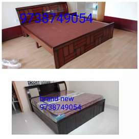 Brand new king size cot without storge 9000