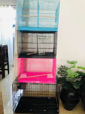Birds And dog cage with breeding door and partition cage available