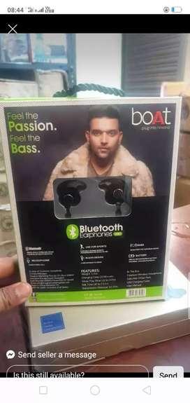 Boat rockerz wireless Bluetooth neckband original