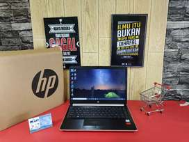 HOTSALEE!! LAPTOP HP14s COREi5-8265U RAM 4GB HDD 1TB