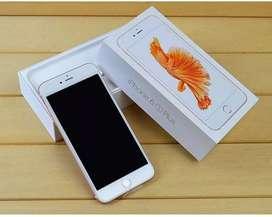 Iphone 6s plus 128gb rosegold komplit pemakai sendiri