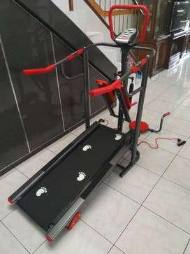 alat olahraga treadmil 5 in 1 bayar di rumah