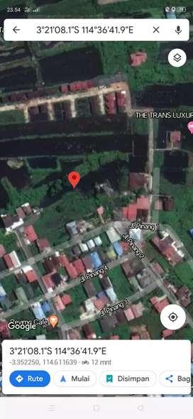 Tanah SHM luas 531 m2 Dalam Kota Banjarmasin