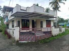 2 bhk 750 sqft ready to occupy house at varapuzha Kongorpally area