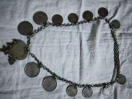 antique necklace silvar