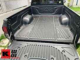 Bed liner / alas bak mobil triton 2015 single cabin