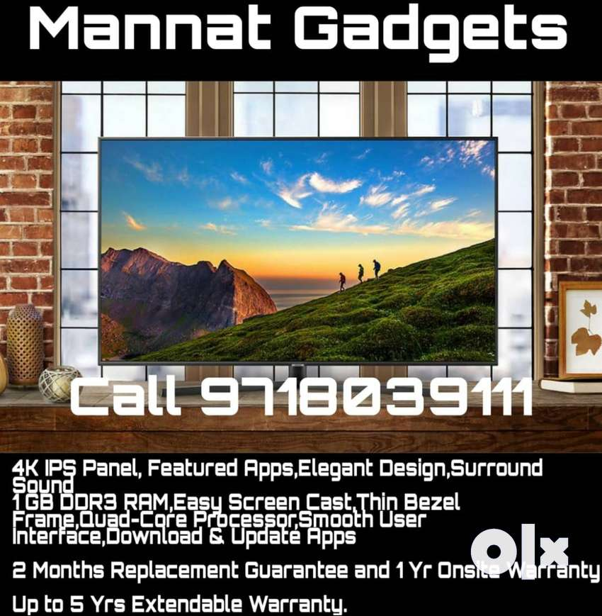 32 inch Smart Led Tv with Warranty 0
