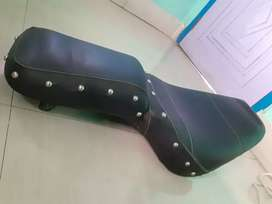 Royal Enfield classic seat (Harley Davidson style)