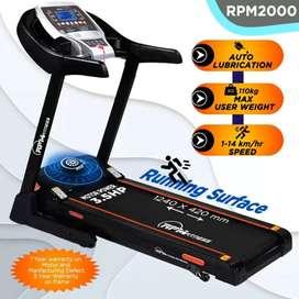 RPM Fitness RPM2000 3.5HP Peak Motorized Treadmill