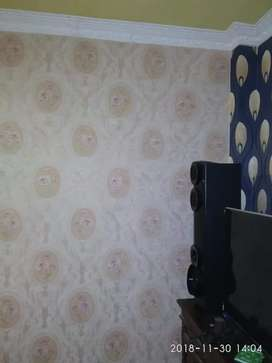 Wallpaper dinding memperindah hunian maupun kantor anda