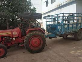 Tractor available on rent on monthly basis.
