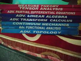 M. Sc mathematics