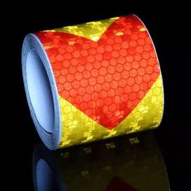 3M reflective tape roll frame stickers multiple usage new florescent