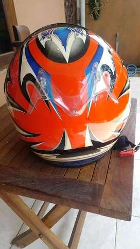 Helm bekas agiva masih bagus