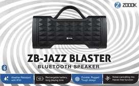 Zoook Jazz Blaster 30W Bluetooth Party Speaker with Auxin & Handsfree