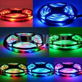 [BANTING HARGA] Lovov - Lampu Strip Remote 2835 (RGB / Warna-Warni)