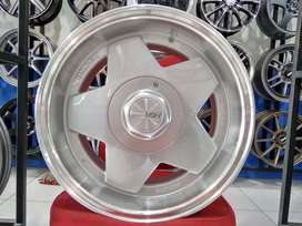 Velg Mobil Mirage, Vios Ring 15 AACHEN HSR Silver