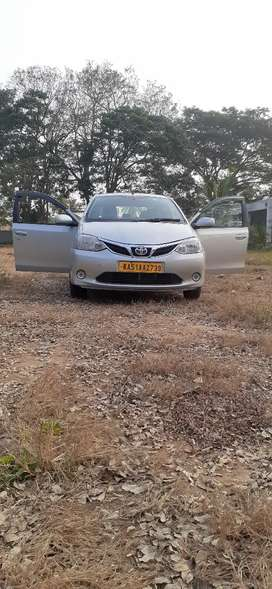 Car for rent Etios GD 4+1 9/KM. day 400+night drive 400 byata