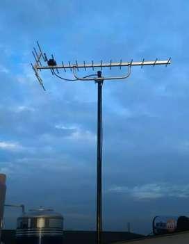 Jasa pasang sinyal antena tv luar sindang jaya