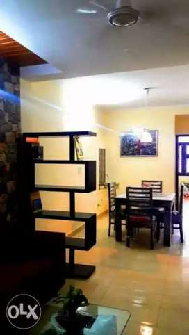 2 bhk fully furnished  flat for rent only family and working girls