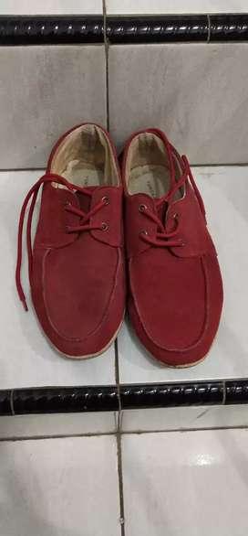 Sepatu Yongki Komaladi Red uk42.