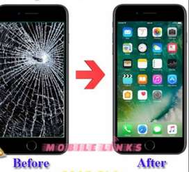 BROKEN DISPLAY GLASS REPLACE FOR RS 900 AND MOBILE AND LAPTOP SERVICE