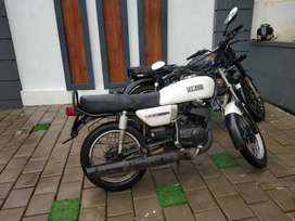 Yamaha RX135 2000 Model with Cat