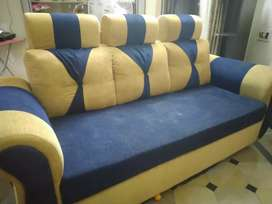 Sofa 3+1+1 Good fabric comfortable Sofa