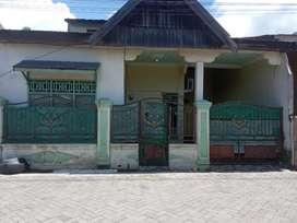 Rumah permanen 2 lantai