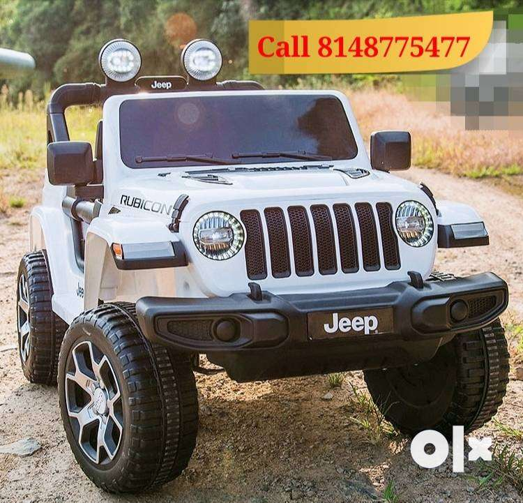 Kids Car - Battery Operated - Licensed Jeep Model 0