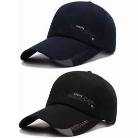 Topi sport import Bahan: polyester cotton acrylic