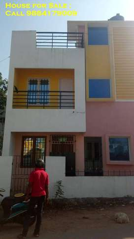 Independent House for Sale : ECR,Kanathur Rs.68 Lakhs