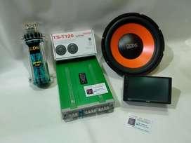 Paket Audio ADS + TV Rockbox + Kapasitor Bank ADS Bonus Tweter Pioneer
