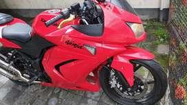 Ninja 250 karbu merah hot