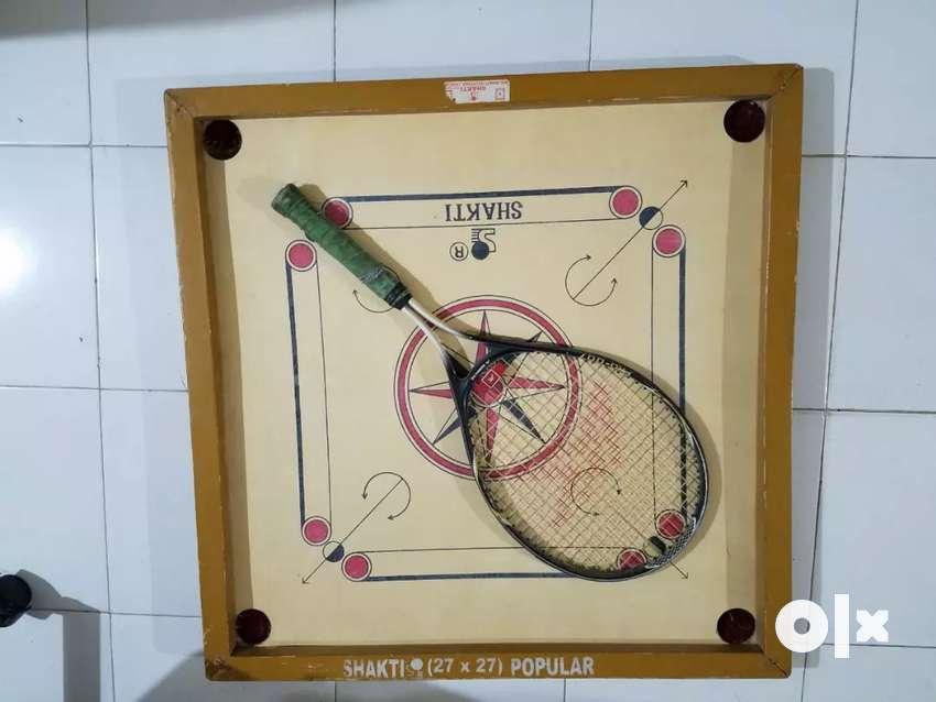 Carrom. Tannis racket.spa cap hair steamer. 0