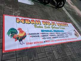 Spanduk banner BRANDING DAGANGAN