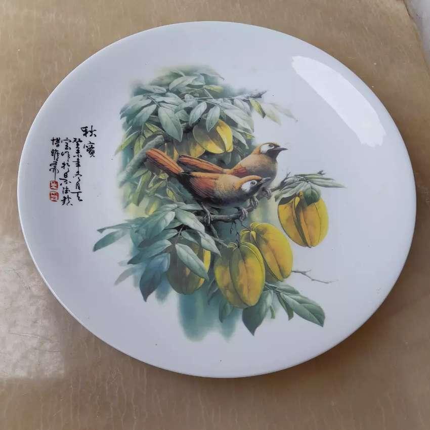 Piring Besar Pajangan Keramik Antik China 0