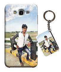 Photo Mobile Cover Printing + Free Photo Keychain - Free Home Delivery