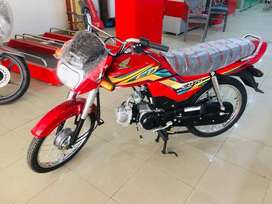 HONDA CD70 DREAM 2021 MODEL RED & BLACK
