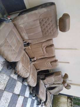 Xuv 500 Leather high quality Seats , just unclean , not damaged.