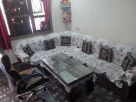 Sofa 10 seater with table And maharaja chair