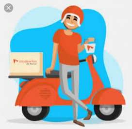Hiring for food delivery in Zomoto