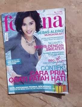 Majalah femina cvr dian sastro
